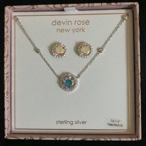 Devin Rose New York Sterling Silver Jewelry Set